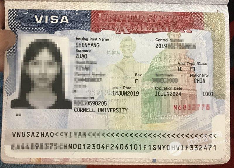 2019沈阳美国留学签证代办案例